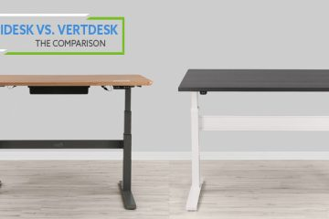 VARIDESK ProDesk 60 Electric vs VertDesk: Which is better?