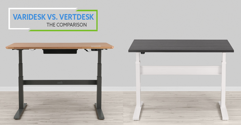 VARIDESK ProDesk 60 Electric vs VertDesk