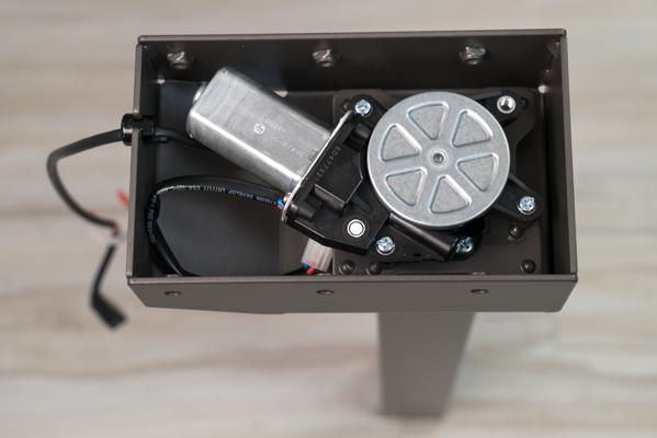Motor inside the motor box