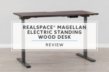Realspace® Magellan Performance Electric Desk 2021 Review + Pricing