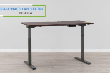 Realspace® Magellan Performance Electric Height-Adjustable Wood Desk (Review / Rating / Pricing)