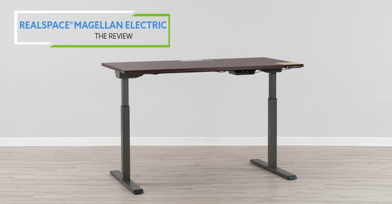 Realspace Magellan Performance Electric Standing Desk Review header