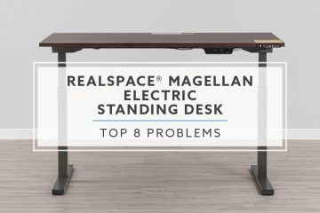 Top 8 Realspace Magellan Standing Desk Problems, Solutions and Alternatives For 2019