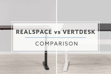 Realspace Magellan VS VertDesk v3 Standing Desk: Which is better in 2019?
