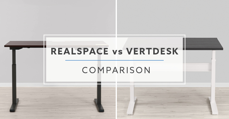 Realspace Magellan Vs Vertdesk V3 Standing Desk Which Is Better