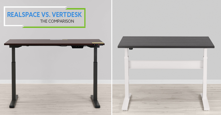 Realspace Magellan VS VertDesk v3 Standing Desk: Which is better?