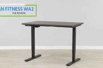 Titan Fitness WA2 Electric Standing Desk (Review / Rating / Pricing)