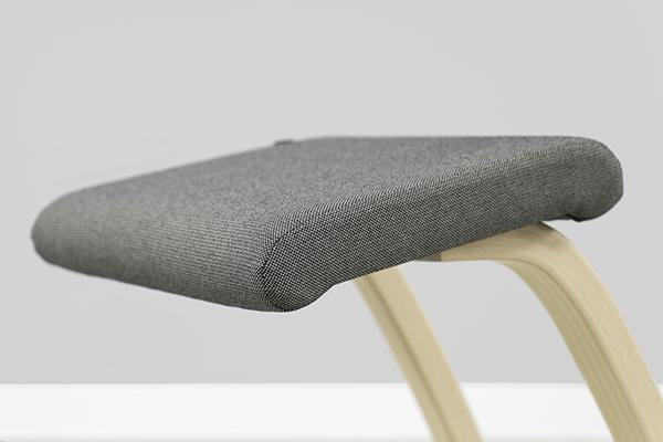 Close up of seat pad