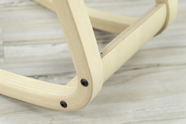 Close up of wood frame