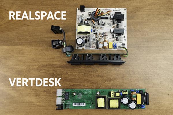 Control box comparison