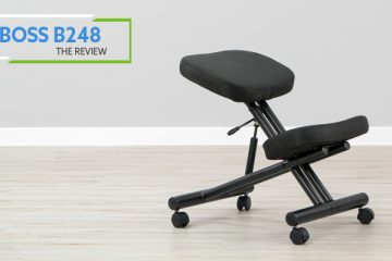 Boss B248 Kneeling Chair (Review / Rating / Pricing)