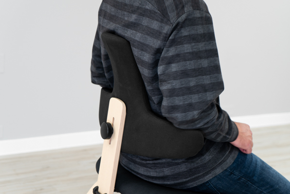 Varier Thatsit Backrest and Armrests From Behind