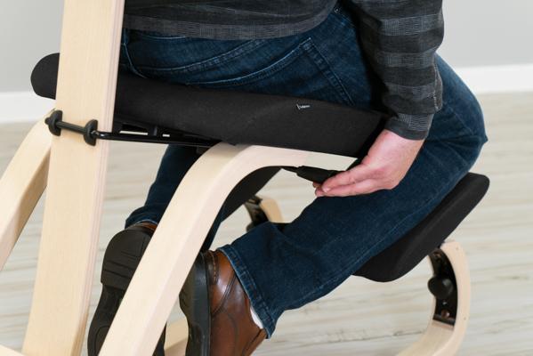 Varier Thatsit™ Balans Backrest Depth Adjustment Lever