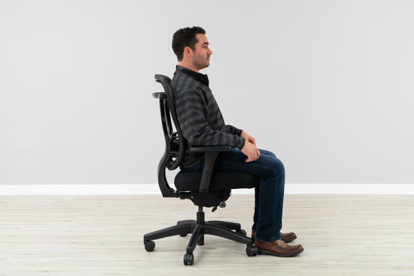 Correct Ergonomic Office Chair Position