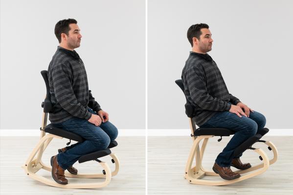 Varier Thatsit™ Balans Range of Motion