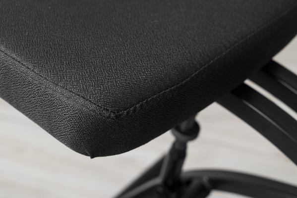 Fabric on seat
