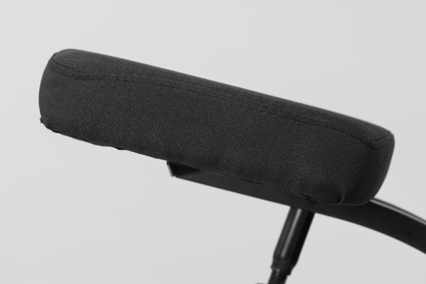 Side view of seat pad