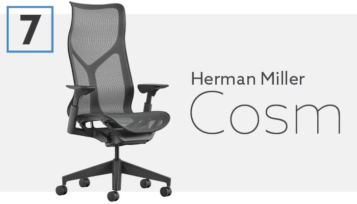 #7 Best Conference Chair For Lower Back Pain - Herman Miller Cosm
