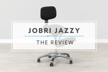BetterPosture® Jazzy Kneeling Chair by Jobri® (Review / Rating / Pricing)
