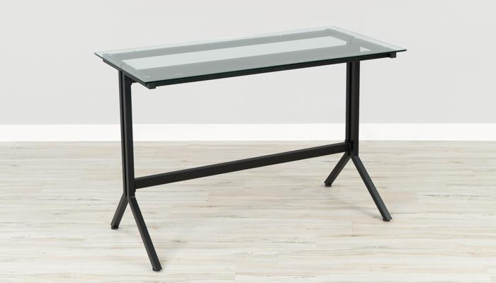 Flash NAN-JN21719-D-GG Glass Desk Only