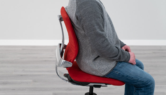 Using Backrest with Lumbar From Side