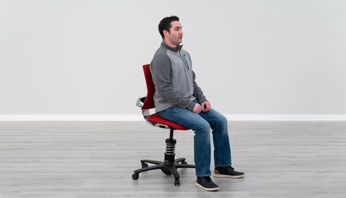 Sitting in 3DEE with Proper Ergonomics
