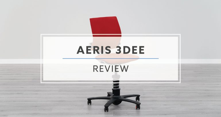 aeris GmbH 3DEE Active Desk Chair (Review / Rating / Pricing)