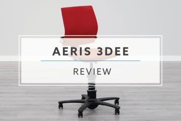 aeris GmbH 3DEE Active Desk Chair (2019 Review / Rating / Pricing)