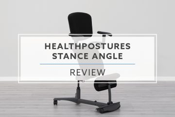 HealthPostures Stance Angle 5100 Sit Stand Chair (2019 Review / Rating / Pricing)