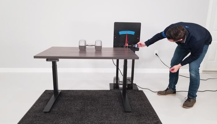 """Jarvis Deflection Test Setup @ 30"""""""