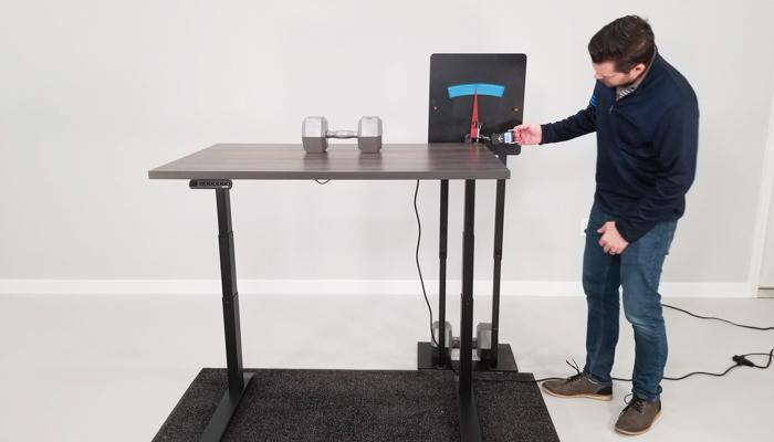 """Jarvis Deflection Test Setup @ 46"""""""