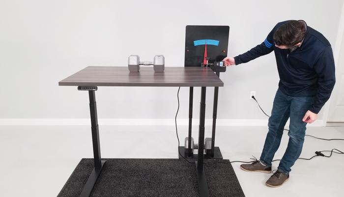 """Jarvis Deflection Test Setup @ 42"""""""