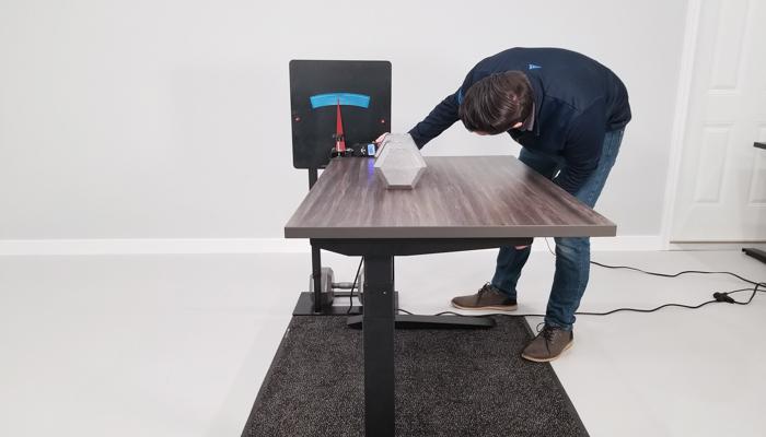 """Jarvis Rocking Deflection Test Setup @ 30"""""""