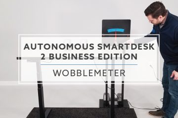 WobbleMeter: Stability Testing For Autonomous SmartDesk 2 Business Edition