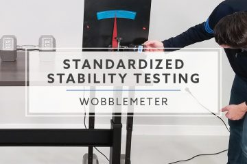 Using the WobbleMeter for Standardized Stability Testing