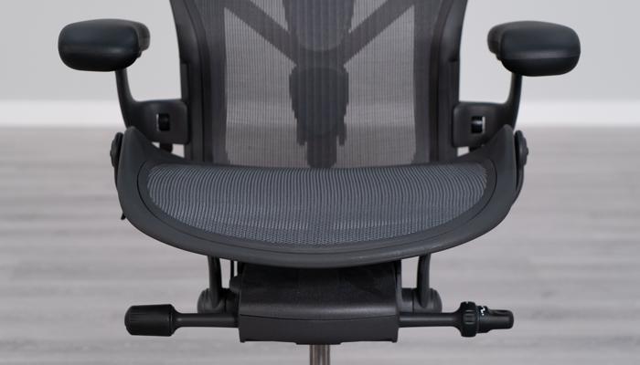 Aeron's seat pan shape