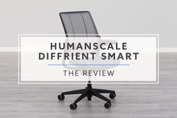 Humanscale Diffrient Smart Task Chair (Review / Rating / Pricing)