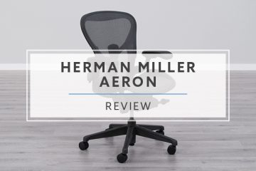 Herman Miller Aeron Mesh Office Chair (Review / Rating / Pricing)