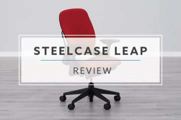 Steelcase Leap v2 Ergonomic Office Chair (Review / Rating / Pricing)