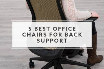 5 Best Ergonomic Office Chairs for Back Support in 2019