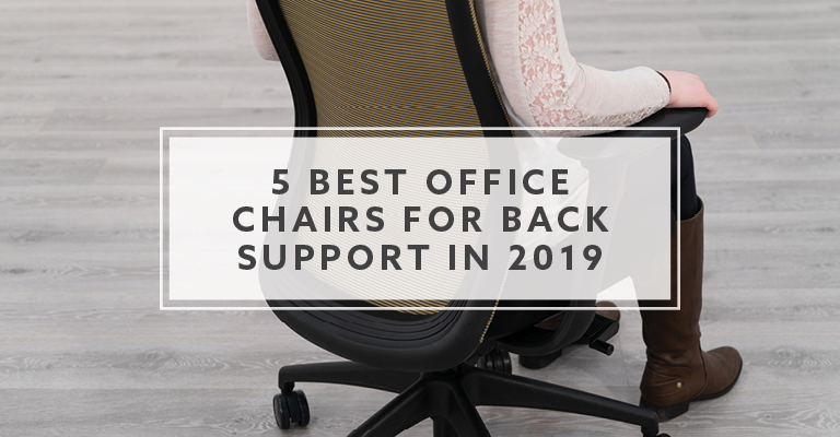 Best Office Chair For Back >> 5 Best Ergonomic Office Chairs For Back Support In 2019
