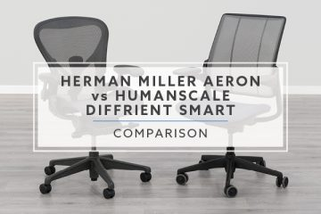 Herman Miller Aeron VS. Humanscale Diffrient Smart: Which chair is best for you?