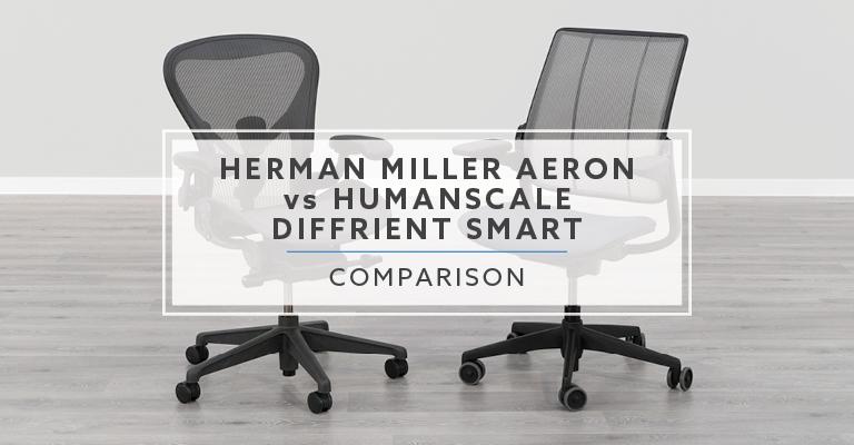 Herman Miller Aeron vs. Humanscale Diffrient Smart