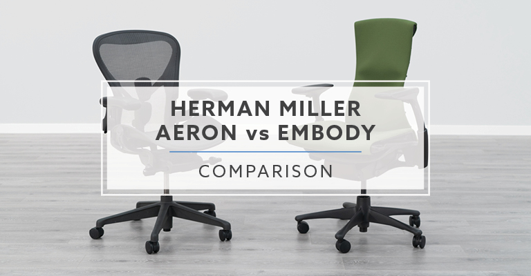 Incredible Herman Miller Aeron Vs Herman Miller Embody Chair Creativecarmelina Interior Chair Design Creativecarmelinacom