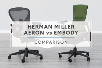 Herman Miller Aeron vs Herman Miller Embody Chair