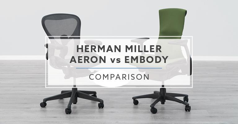 Herman Miller Aeron vs Herman Miller Embody Chair