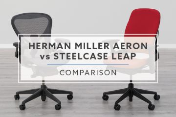 Herman Miller Aeron vs. Steelcase Leap: Which is better?