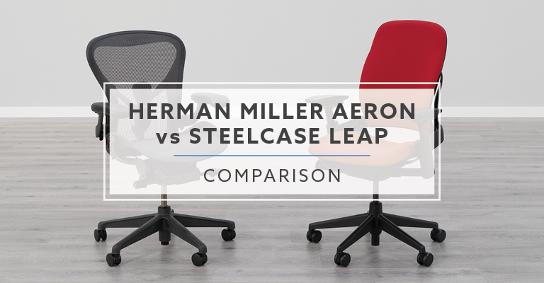Herman Miller Aeron vs. Steelcase Leap Chair: Which is better?