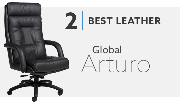 #2 Best Leather Conference Chair
