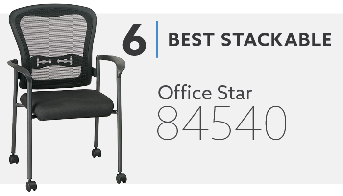 #6 Best Stackable Conference Room Chairs